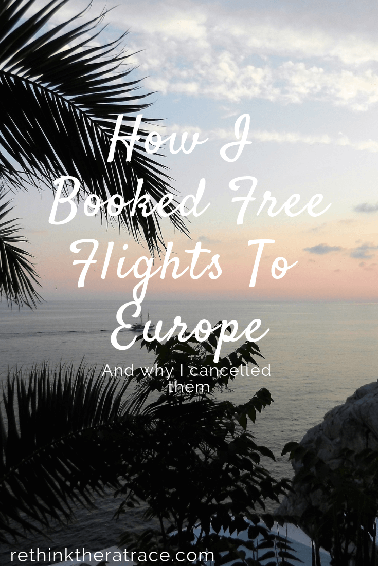 free flights to europe