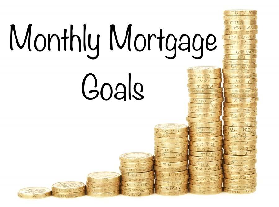 Monthly Mortgage Goals