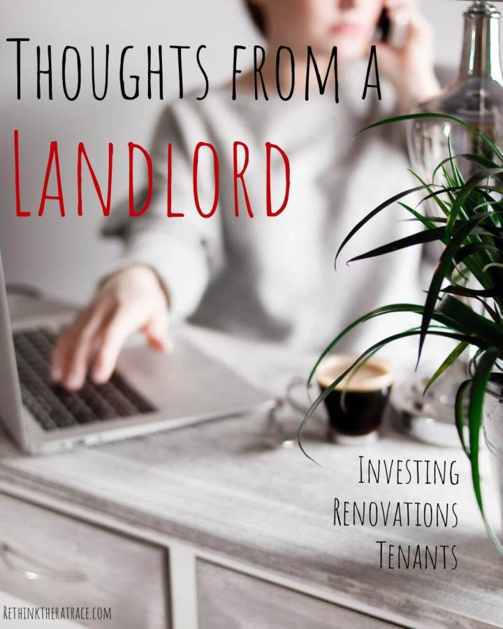 Thoughts From an Unexpected Landlord
